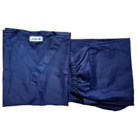 Two Piece Navy blue Scrubs