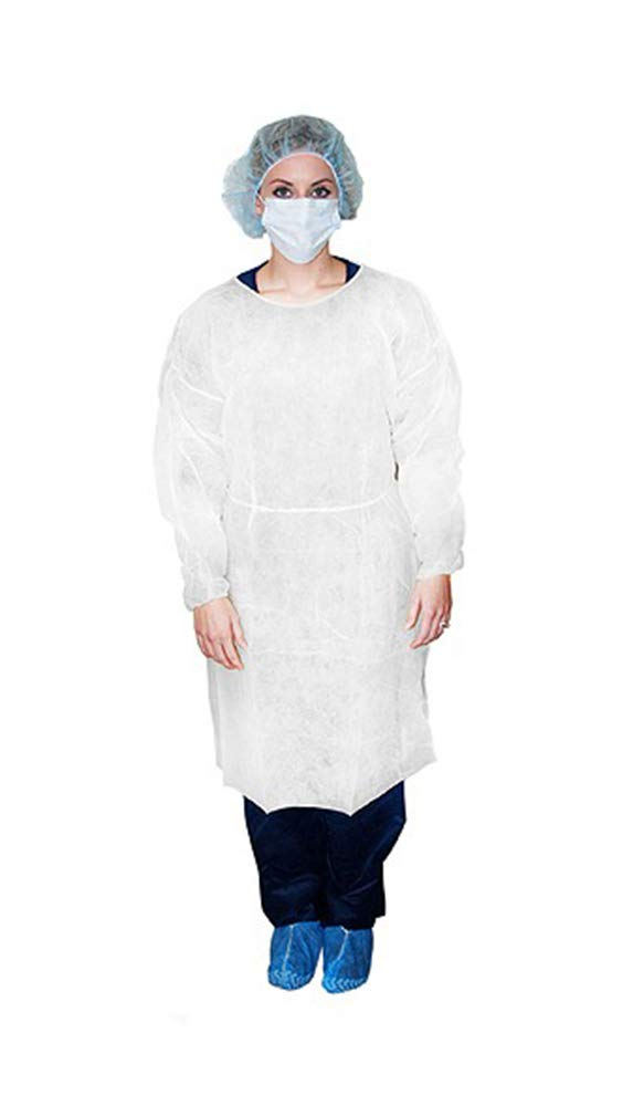 Disposable examination gown / L