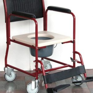 Commode FS691 (detachable arm/foot rest)