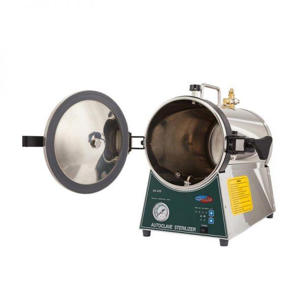 Portable sterilizer, 16 L. microprocessor control