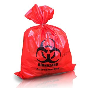 Medical waste bags red bag