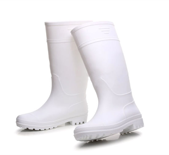Gum boots (white & fat resistant)