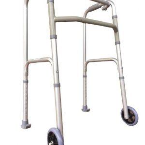 Walking Frame - Rollator Front Wheels Folding