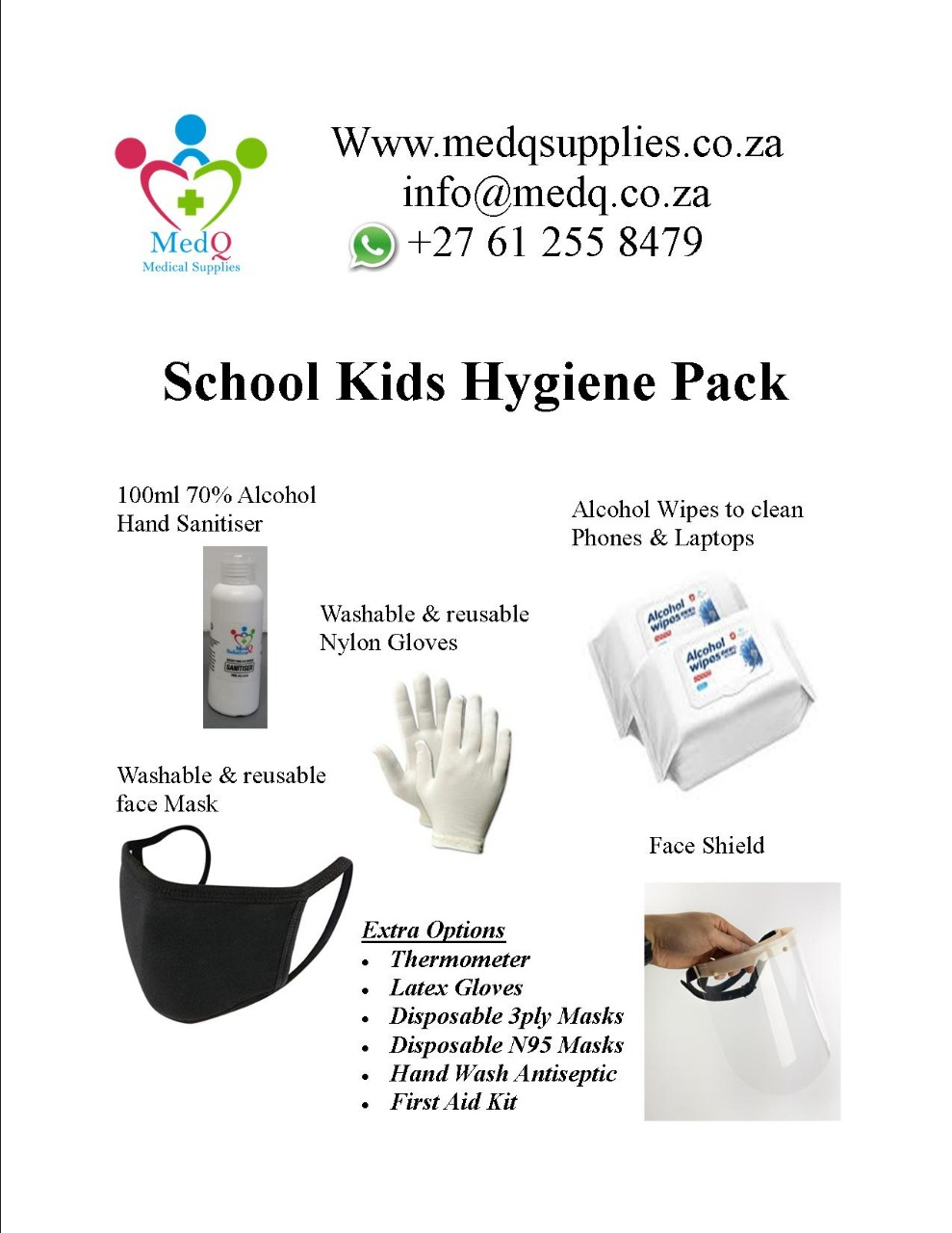 School kids Hygiene pack