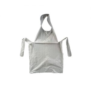 Disposable aprons tie back