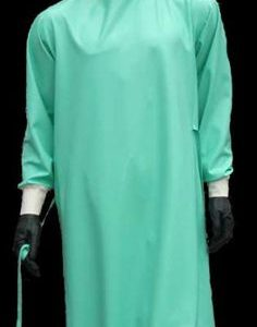 Disposable Gown Jade Green 40GSM