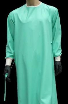 Disposable Gown Jade Green