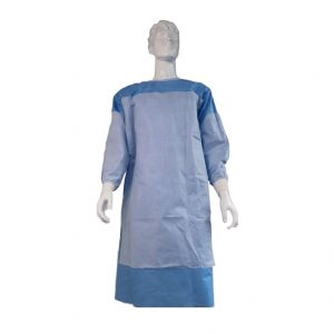 sterile reinforced surgical gown