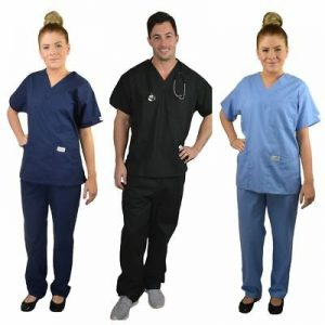 Doctors scrub