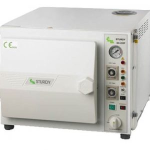 Table top sterilizer, 16 L. microprocessor control