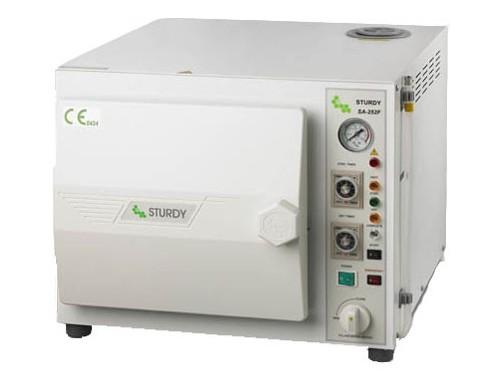 Table top sterilizer, 16 L. microprocessor control
