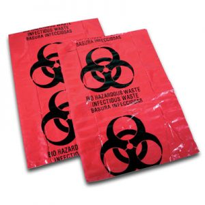 Biohazard Waste Bags Small