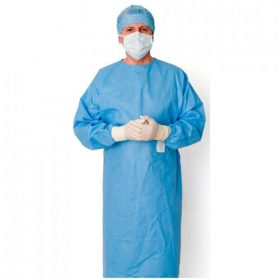 Disposable Sterile Surgical Non reinforced gown Premium Brand / XL