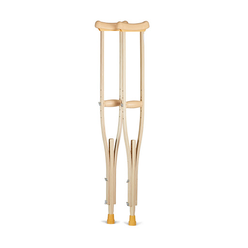 FS935M Wooden Crutches M