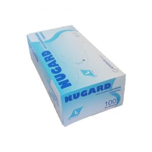 Nugard Latex examination gloves ambidextrous