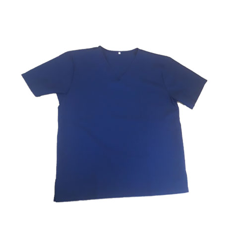 Blue Scrub Set 100% polyester fabric