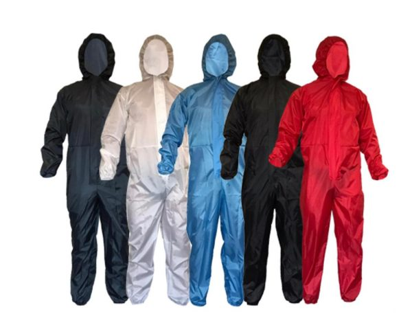 Colorful Reusable coveralls