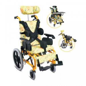FS985LBGY Wheelchair Aluminium
