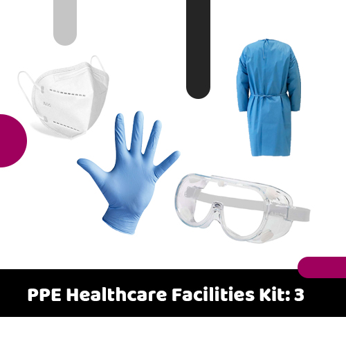 PPE Healthcare Facilities Kit: 3