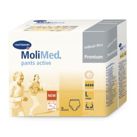 MOLIMED PANTS ACTIVE Large Ultra Discreet Pull up